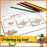 Ordering By Size (Turkey)