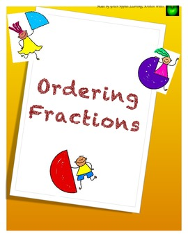 Ordering Comparing Fractions Game