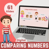 Ordering & Comparing Numbers - 1st grade, (UK Year 2, Key stage 1)