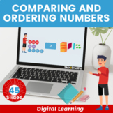 Ordering & Comparing numbers - Grade 3, Year 4, Key stage 2