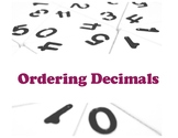 Ordering Decimal numbers Unit and Worksheet