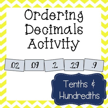 Ordering Decimals