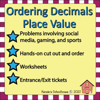 Decimals: Ordering