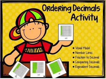 Ordering Fractions and Decimals Activity