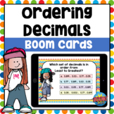 Ordering Decimals Boom Cards | Distance Learning