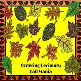 Ordering Decimals: Fall Mania PowerPoint Game