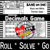 Ordering Decimals Game: 5th Grade Math Game
