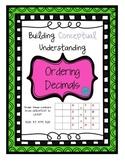 Ordering Decimals with grids (conceptual understanding)