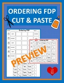 Ordering FDP Cut & Paste