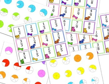 Fractions - Ordering Fractions Game