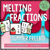 Ordering Fractions Game {Summer Freebie}