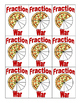 Ordering Fractions- Game of War- Grades 4,5 and 6- CCSS