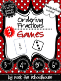 Ordering Fractions Games