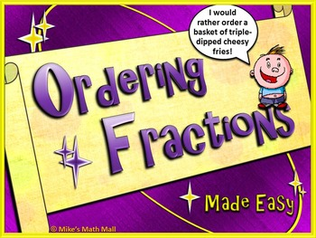 Ordering Fractions Made Easy! (Mini Bundle)