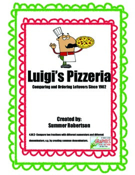 Ordering Fractions at Luigi's Pizzaria