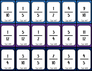 Ordering Fractions from Least to Greatest Self Checking Puzzles