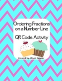 Ordering Fractions on a Number Line QR Code Activity