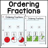 Ordering Fractions practice for Google Slides™