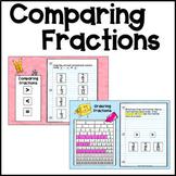 Ordering Fractions practice for Google Slides™ - Distance Learning