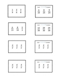 Ordering Fractions Memory Game