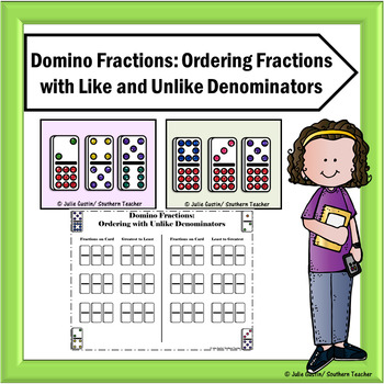 Ordering Fractions with Like and Unlike Denominators
