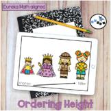 Ordering Height DIGITAL Eureka Math Mod 3 Topic A Center A