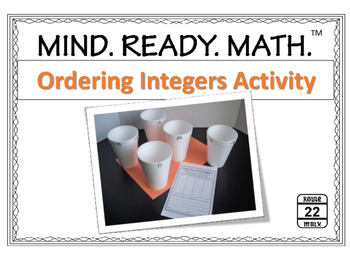 Integers Activity