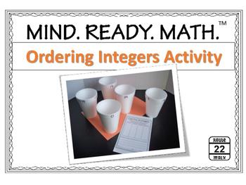 Integers Activity