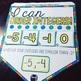 Ordering Integers Math Pennant Activity