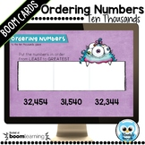 Ordering 5 Digit Numbers Boom Cards