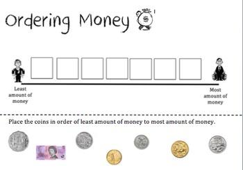 Ordering Money (Australian)