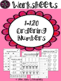 Ordering Number's Worksheets {1.NBT.1}