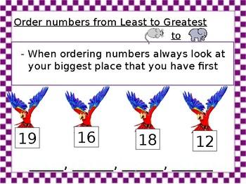 Ordering Numbers!