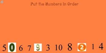 Mimio - Smartboard - Ordering Numbers 0-10