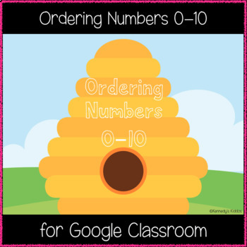 Ordering Numbers 0-10 (Great for Google Classroom!)