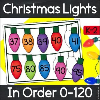 Ordering Numbers 0-120 Christmas Lights