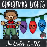 Ordering Numbers 0-120 Christmas Lights