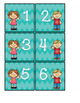 Ordering Numbers 0-20 ( Number Cards 0-20 )
