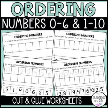 Ordering Numbers (0-6)
