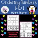 Ordering Numbers 1-10 B&W
