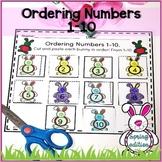 Ordering Numbers 1-10 | Pre-K and Kindergarten Spring Activity.