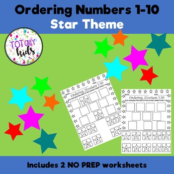 Ordering Numbers 1-10 Start Theme