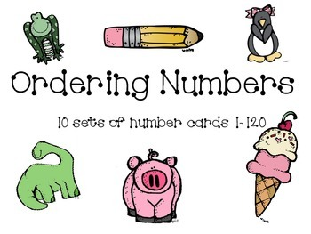 Ordering Numbers 1-120
