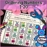 Ordering Numbers 1-20 | Math Worksheets.