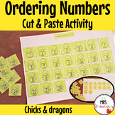 Ordering Numbers Cut and Paste
