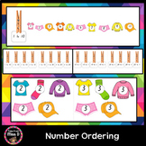 Number Sequencing Ordering Numbers