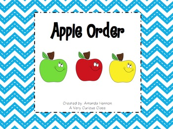 Ordering Numbers: Apples