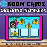 Ordering Numbers Boom Cards / Distance Learning