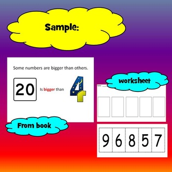 Ordering Numbers 0-10 Unit for Special Education