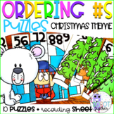 Ordering Numbers Christmas Puzzles
